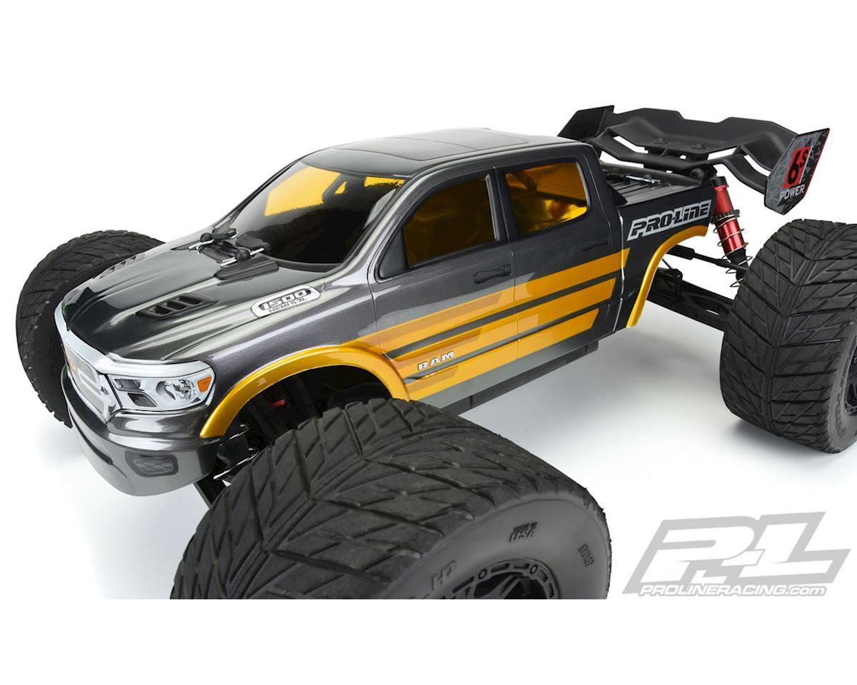 Pro-Line 2020 Ram Rebel 1500 Pre-Cut Monster Truck Body (Clear) (Kraton 6S)