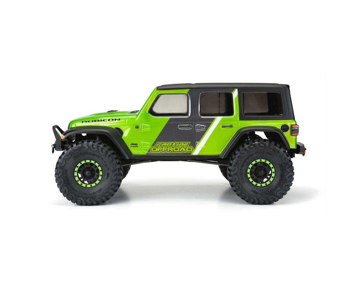 "Pro-Line Jeep Wrangler JL Unlimited Rubicon 12.3"" Crawler Body (Clear) (Vanquish VS4-10)"