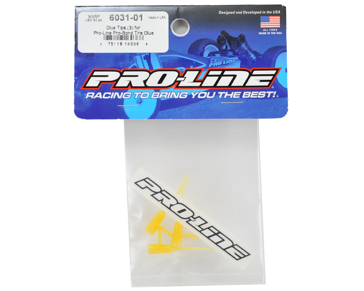 Pro-Line Pro-Bond Glue Tips (3)