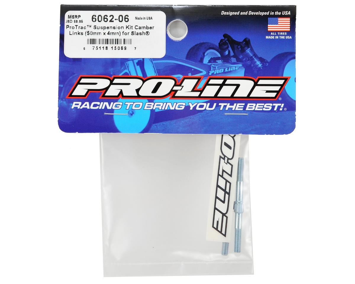 Pro-Line ProTrac 4x50mm Camber Links (2) (2WD Slash)