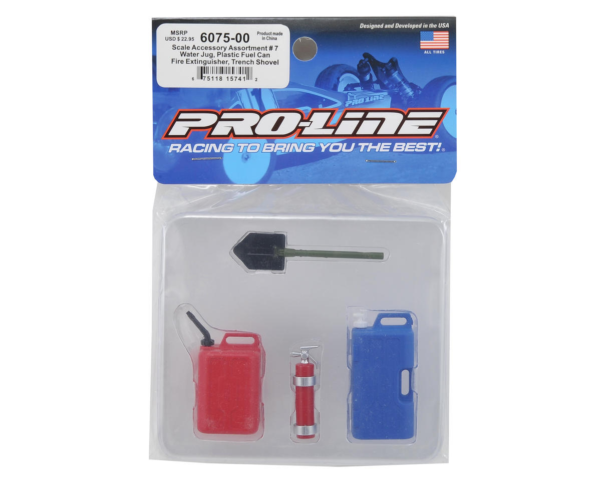 Rock Crawler Scale Accessory Assortment #7 by Pro-Line