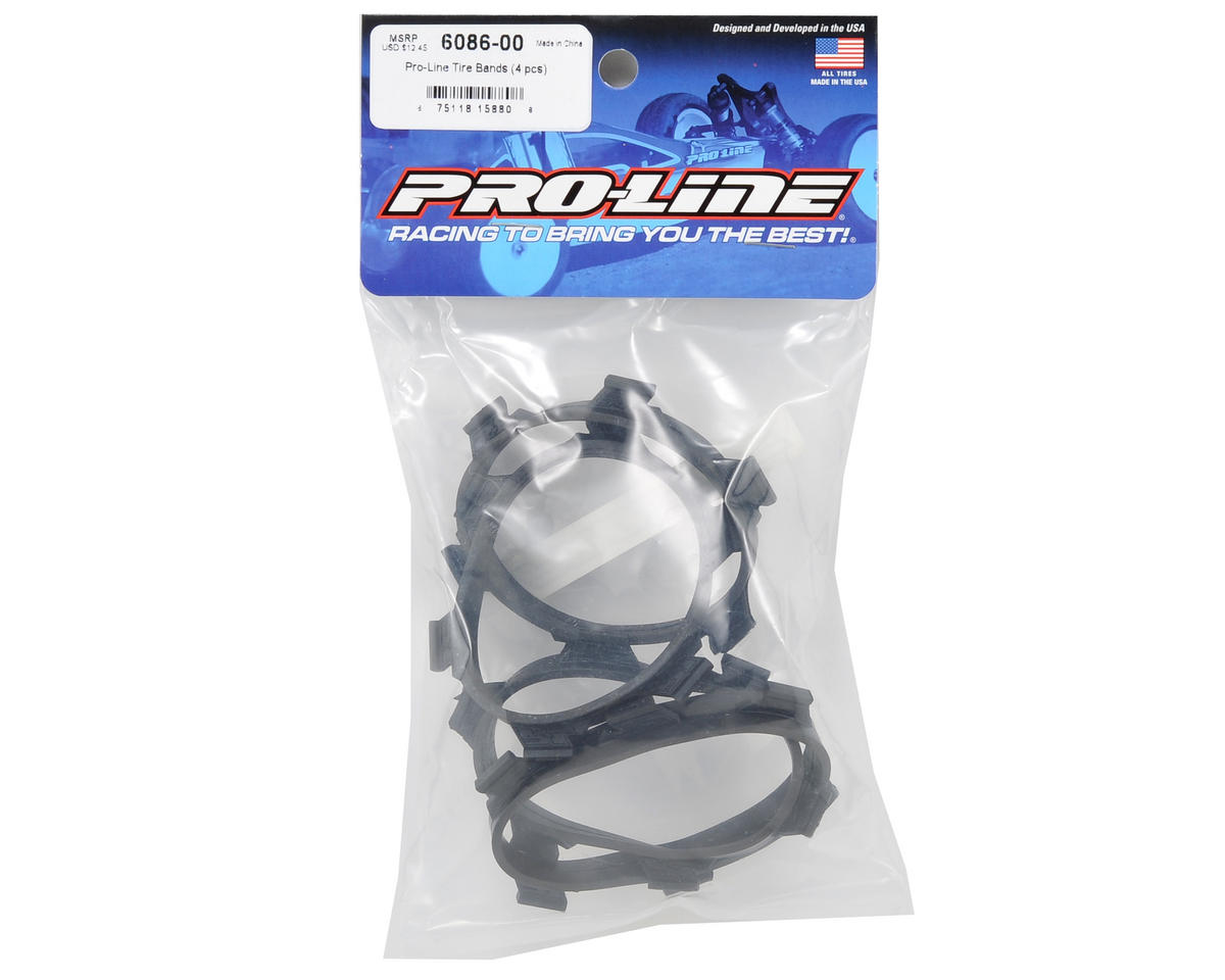Tire Glue Bands (4) by Pro-Line