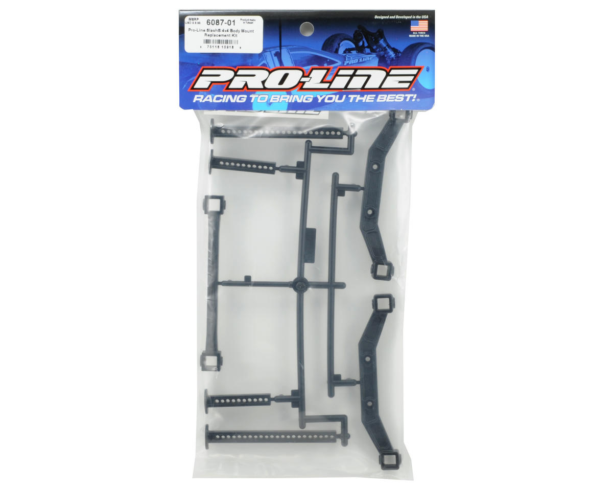 Pro-Line Body Mount Replacement Kit (Slash 4x4)