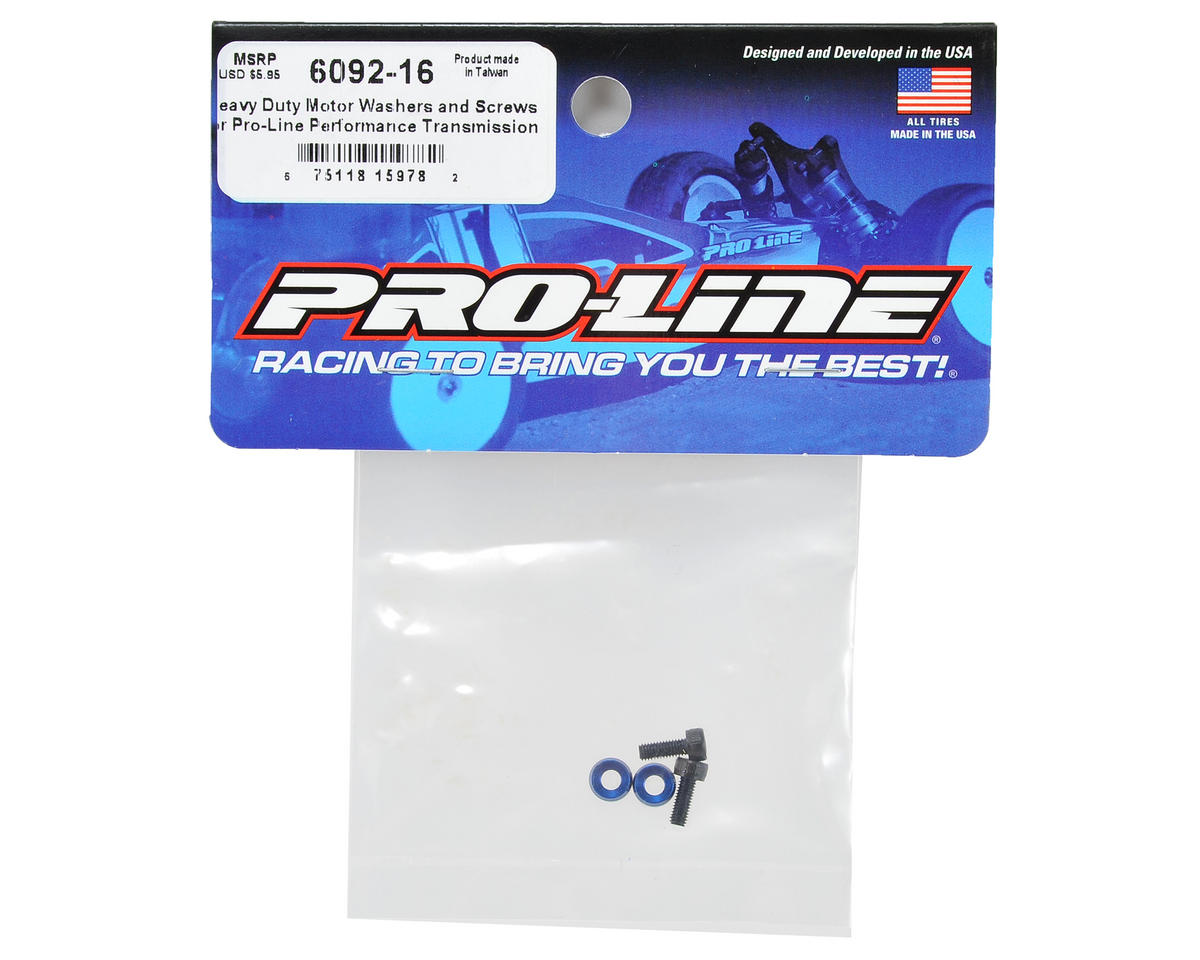 Pro-Line Heavy Duty Motor Washers & Screw Set