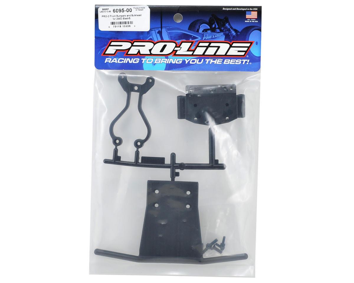 Pro-Line PRO-2 Bulkhead & Front Bumper Set