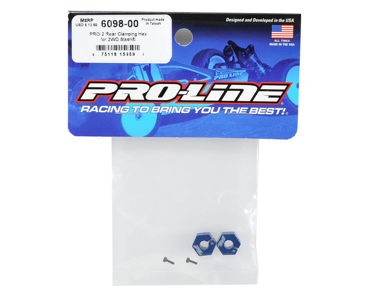 Pro-Line PRO-2 Rear Clamping Hex Set