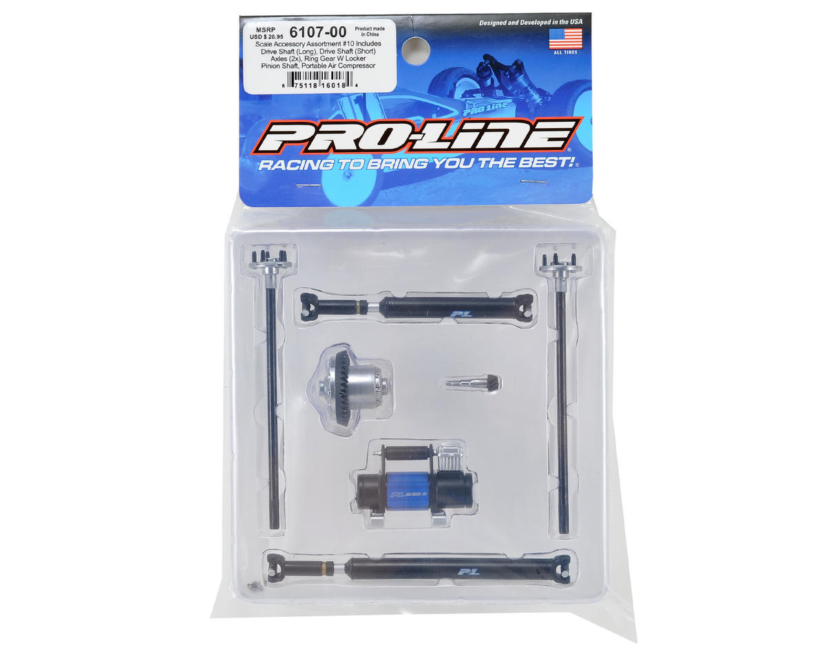 Pro-Line Rock Crawler Scale Accessory Assortment #10