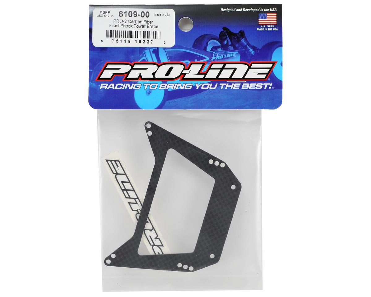 Pro-Line PRO-2 Carbon Fiber Front Shock Tower Brace