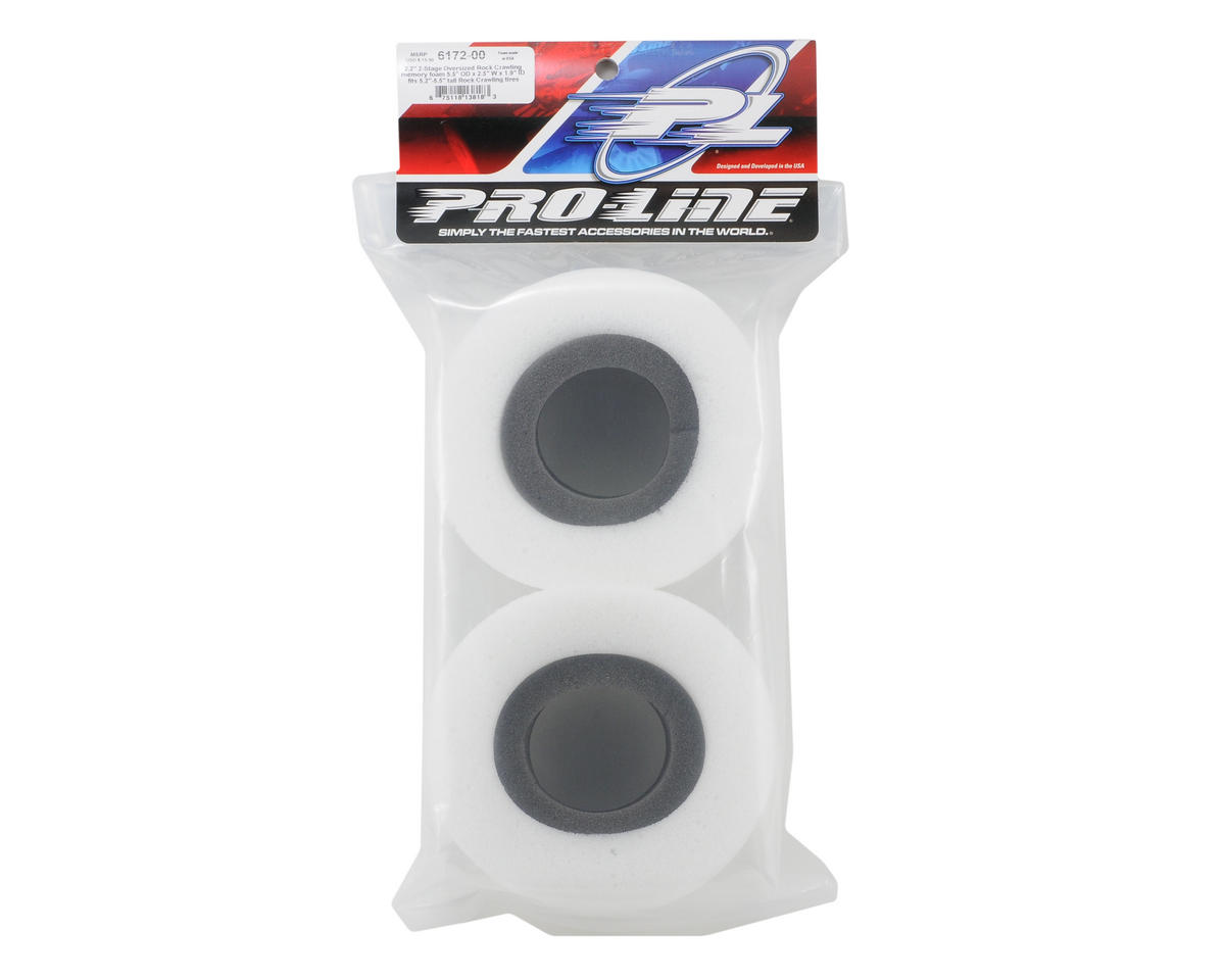 "Pro-Line 2 Stage Memory Foam 2.2"" Rock Crawler Tire Foam (2)"