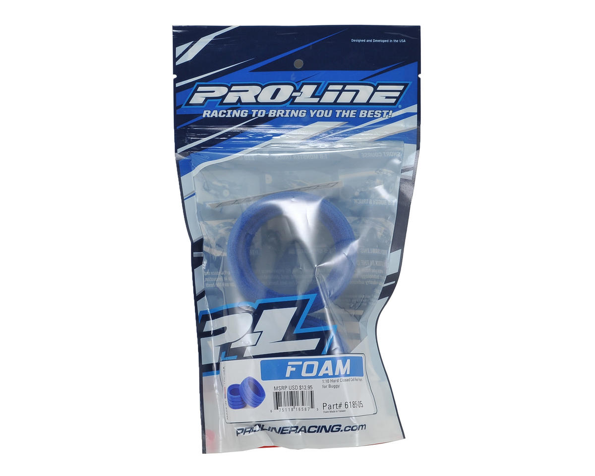 "1/10 2.2"" Rear Buggy Closed Cell Tire Inserts (2) (Hard) by Pro-Line"