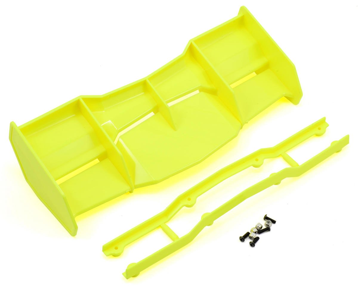 Pro-Line Trifecta 1/8 Off Road Wing (Yellow) (Hot Bodies Ve8)