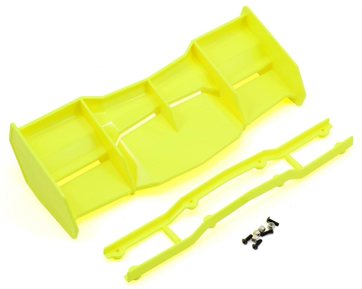 Pro-Line Trifecta 1/8 Off Road Wing (Yellow) (Hot Bodies D8)