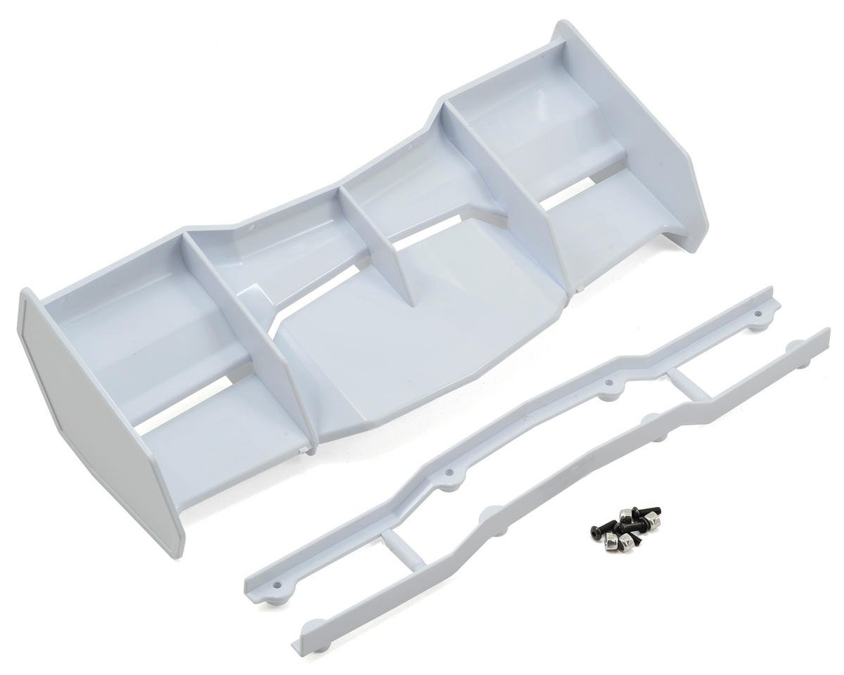 Pro-Line Trifecta 1/8 Off Road Wing (White) (Agama Racing A8 EVO)