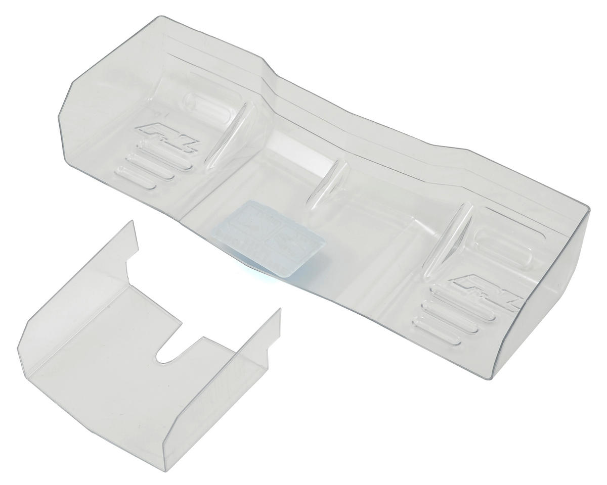 Pro-Line Trifecta Pre-Cut Lexan 1/8 Off Road Wing (Clear) (JQ THE Car (White Edition LV))