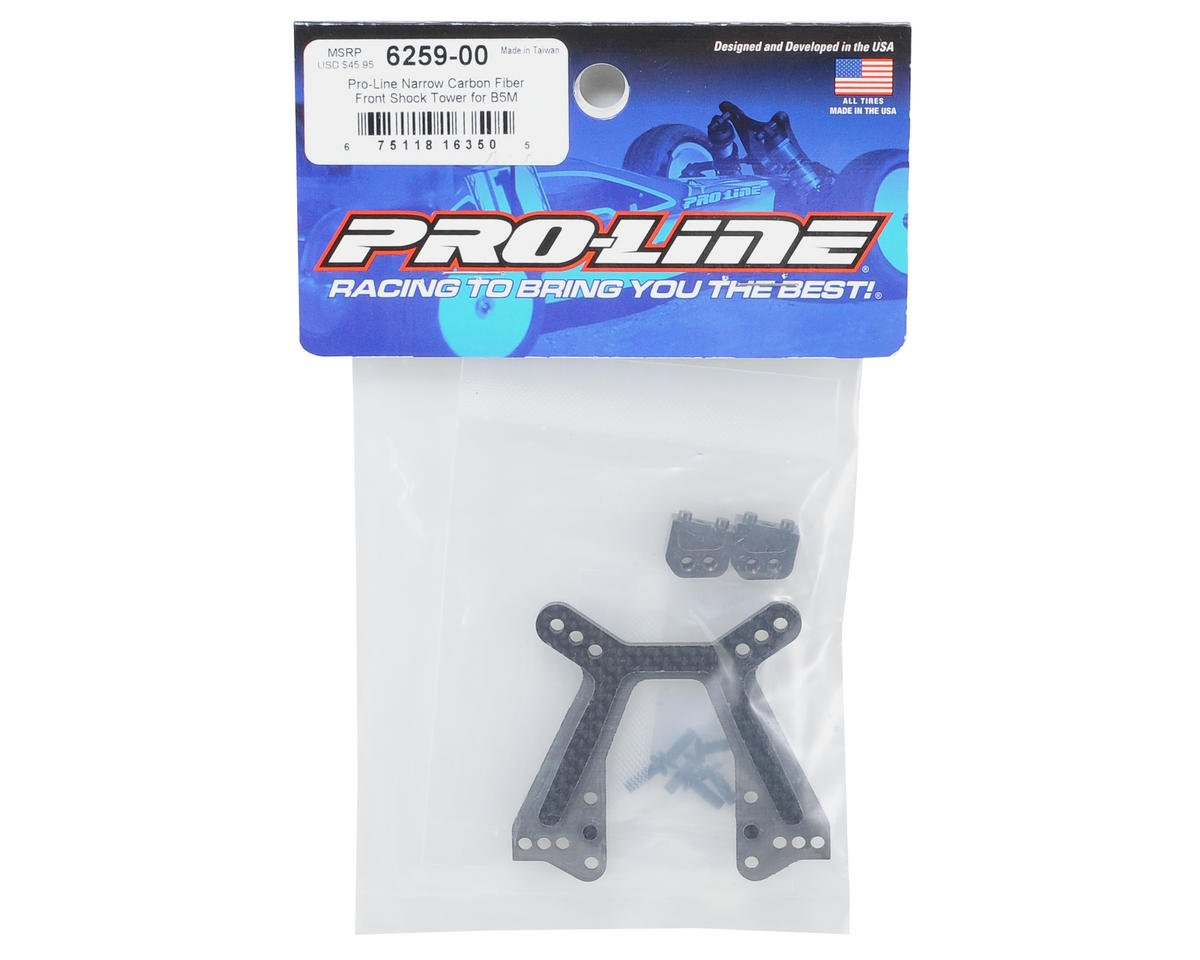 Pro-Line B5M Narrow Carbon Fiber Front Shock Tower