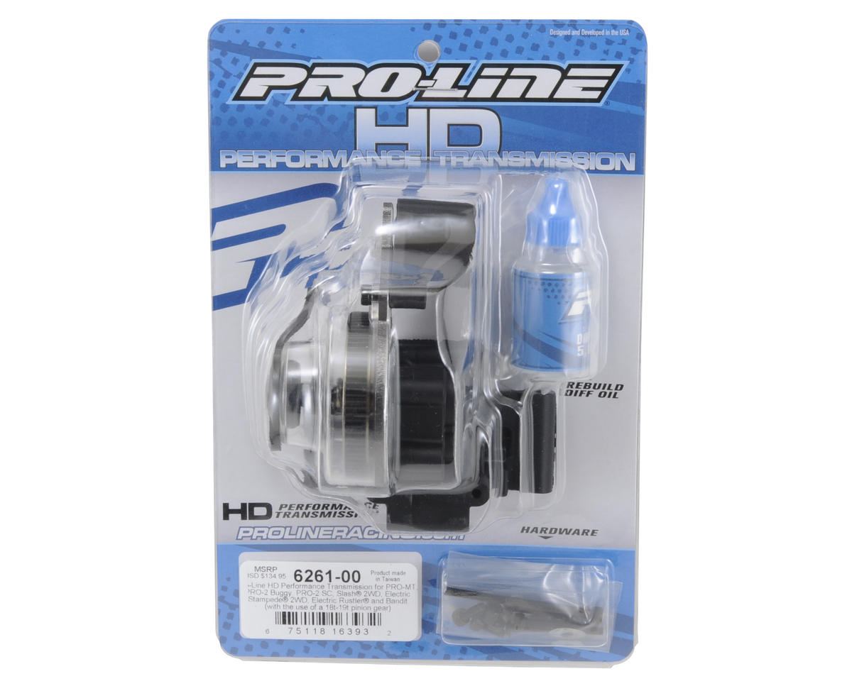 Pro-Line HD Performance Transmission