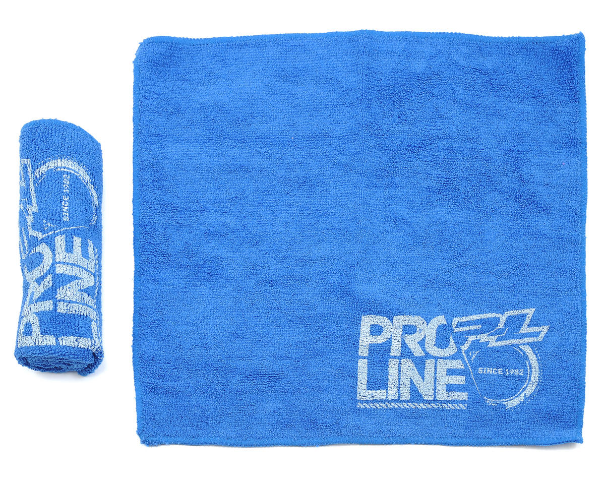 Pro-Line Blue Micro Fiber Towels (2)