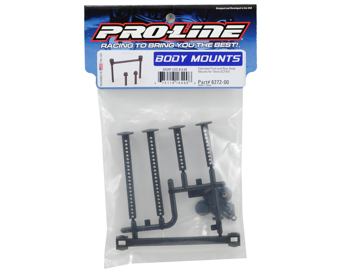 Pro-Line SCT410 Extended Front & Rear Body Mount Set