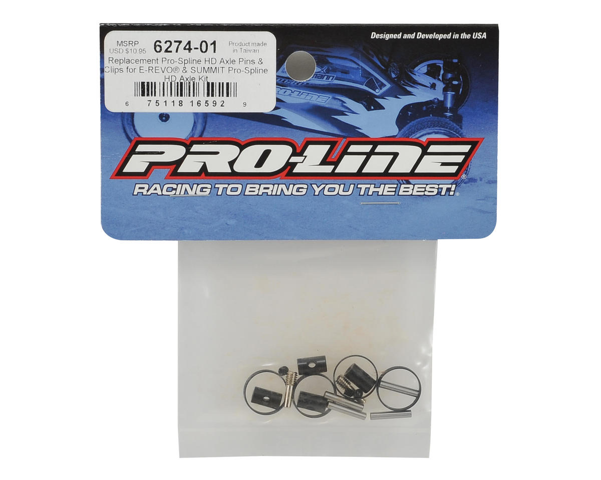 Pro-Line Pro-Spline HD Driveshaft Pins & Clips (E-Revo/Summit)