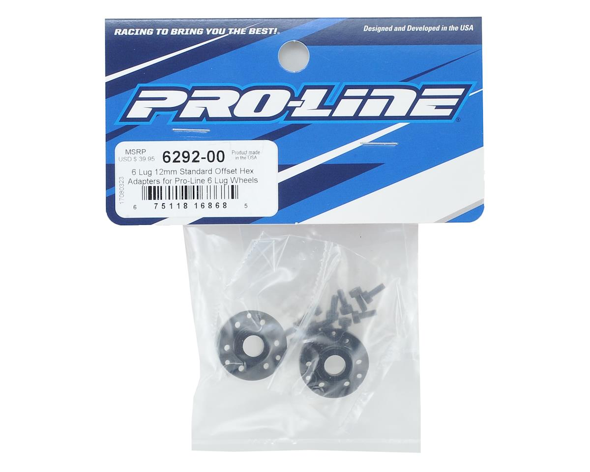 Pro-Line 6 Lug 12mm Standard Offset Hex Adapters (2)