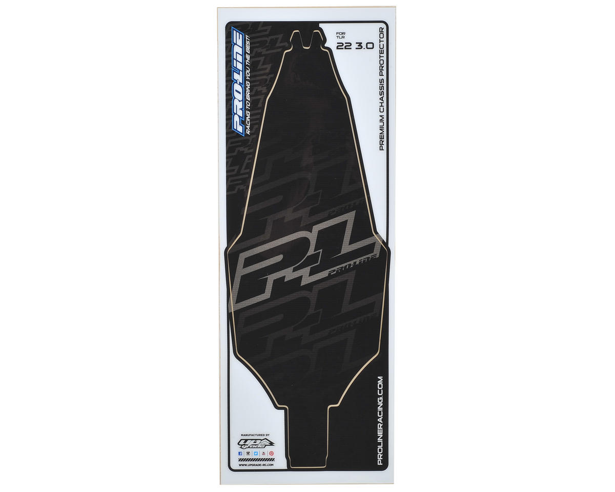 Pro-Line TLR 22 3.0 Precut Chassis Protective Sheet (Black)
