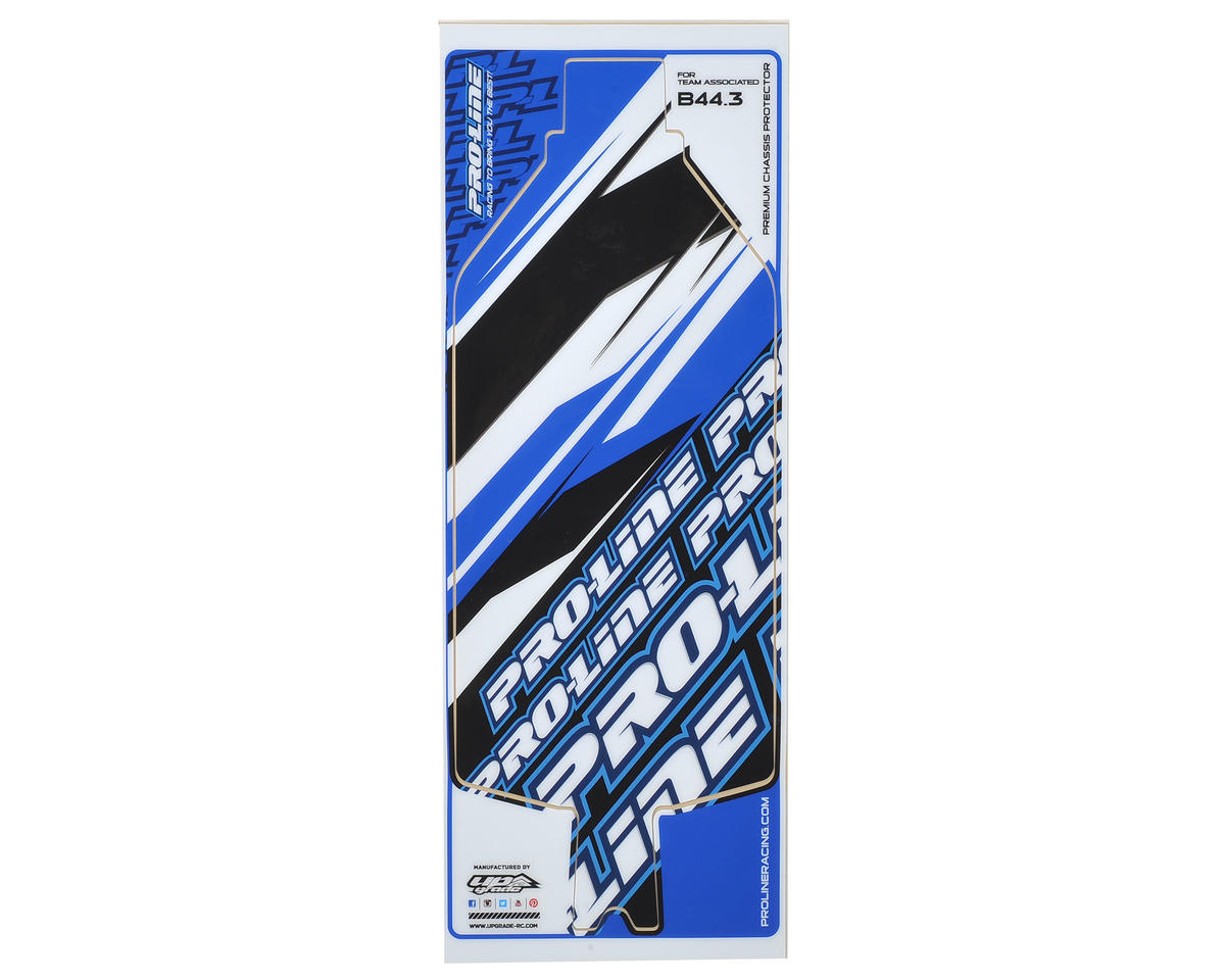 B44.3 Team Chassis Protective Sheet (Black) by Pro-Line