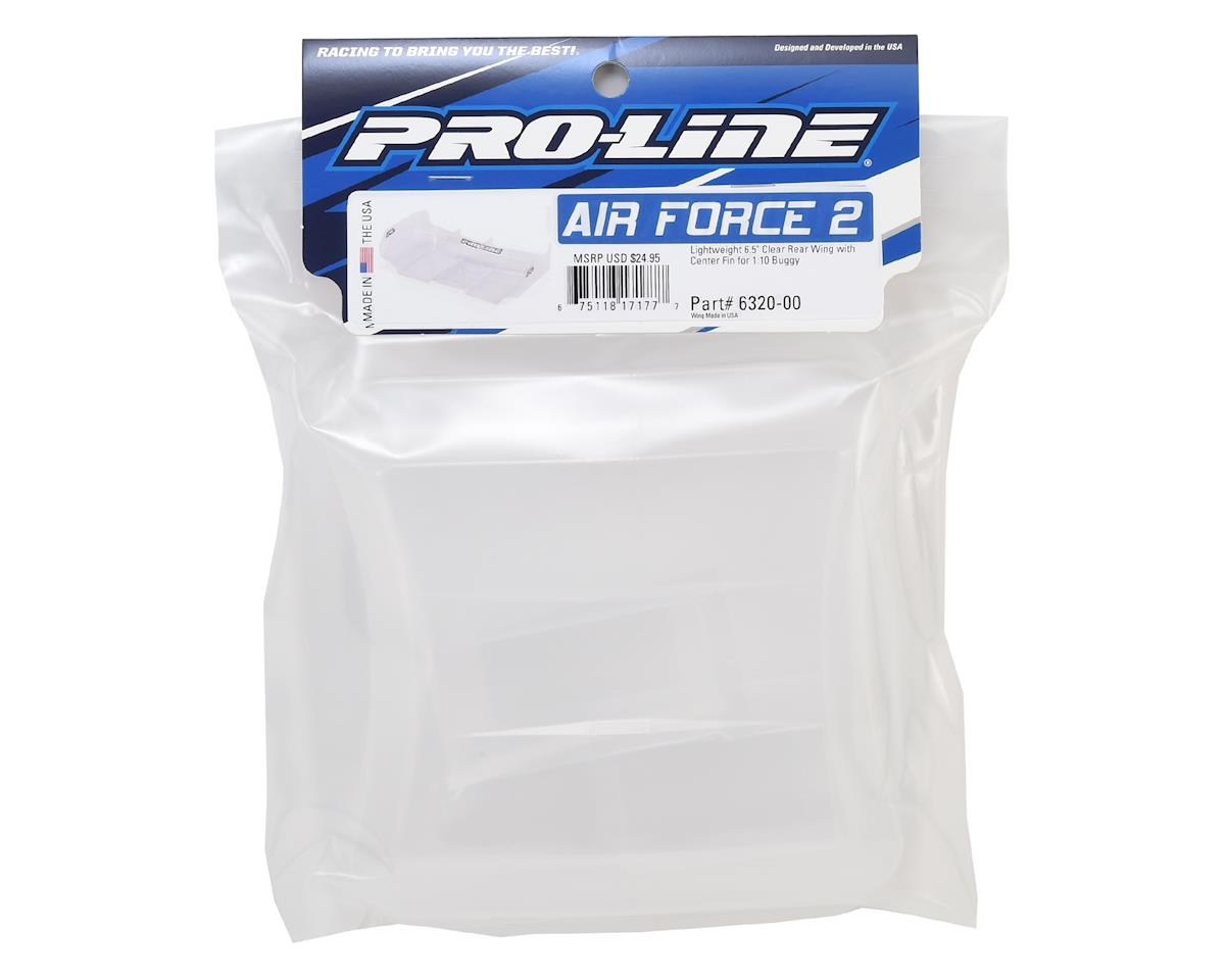 "Pro-Line Air Force 2 1/10 Buggy Wing w/Center Fin (6.5"" Wide)"