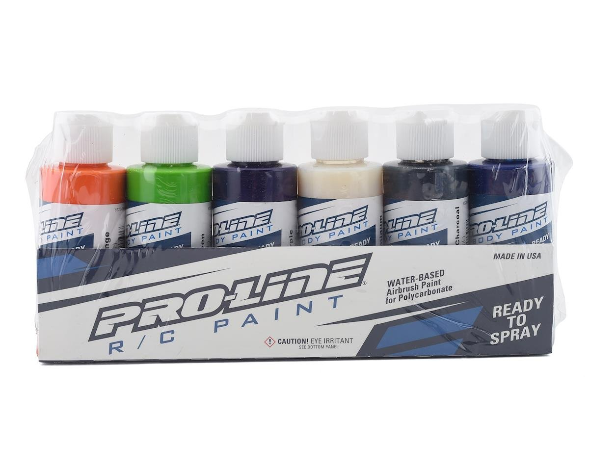 Pro-Line RC Body Airbrush Paint Secondary Color Set (6) | relatedproducts