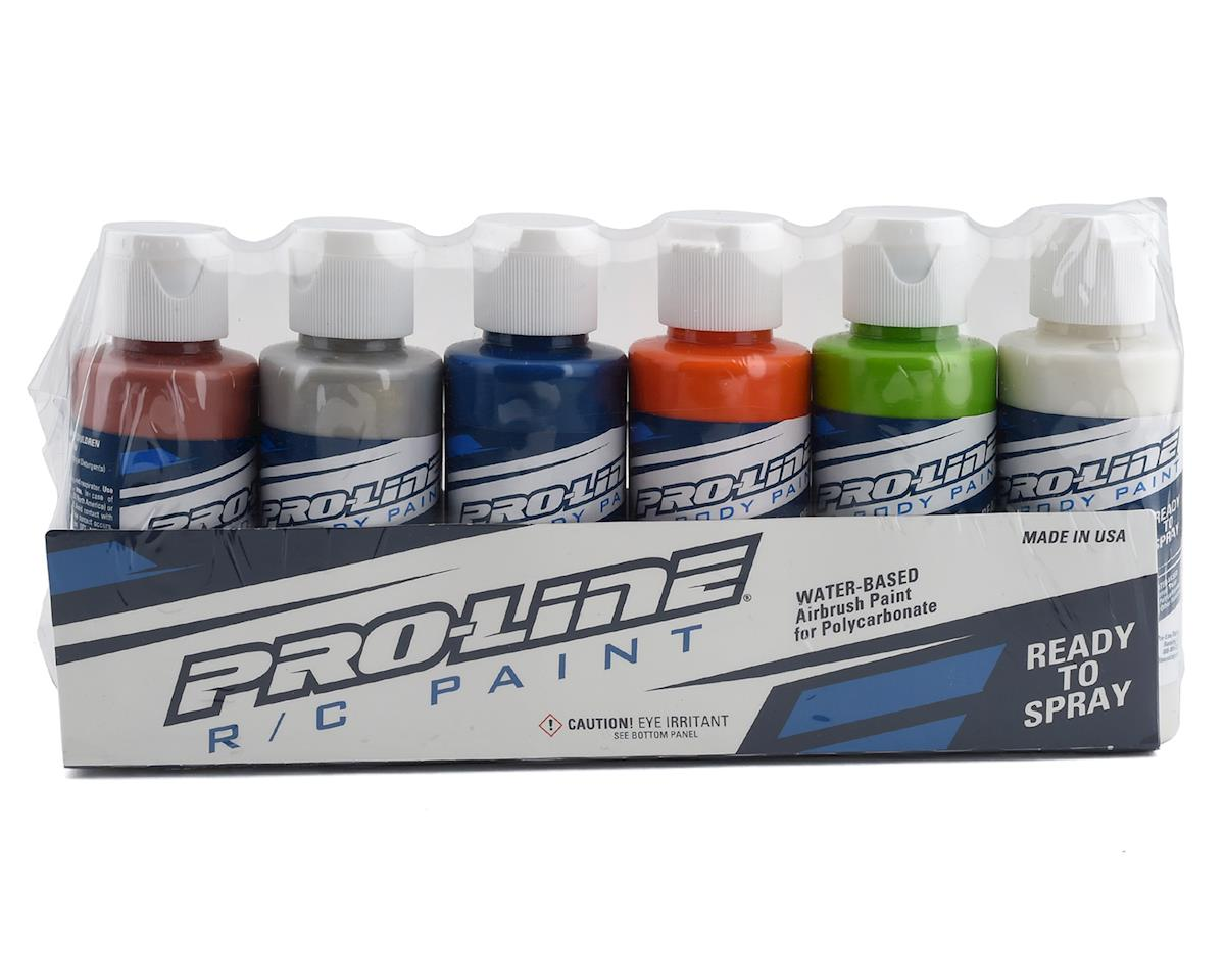 Pro-Line RC Body Airbrush Paint Metallic/Pearl Color Set (6)