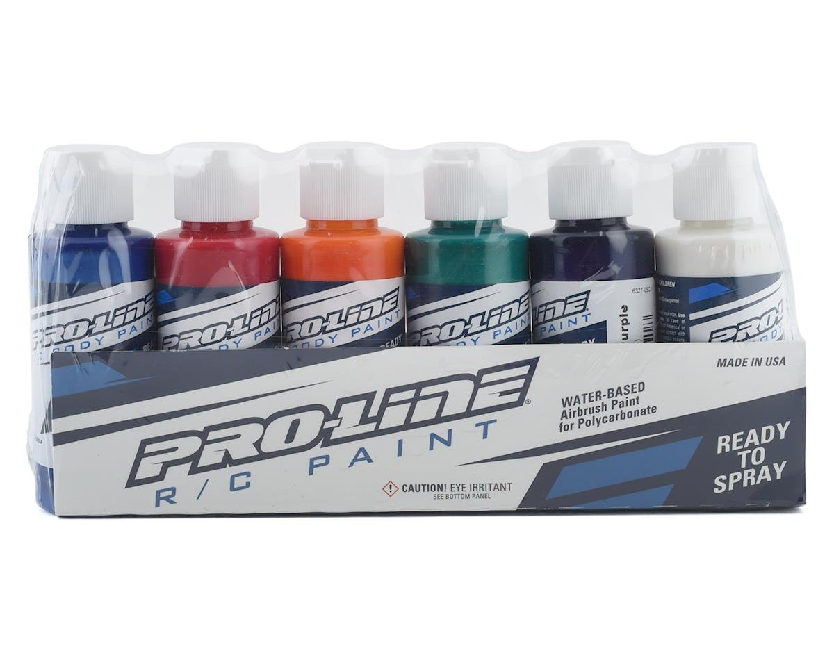 Pro-Line RC Body Airbrush Paint All Pearl Set (6)