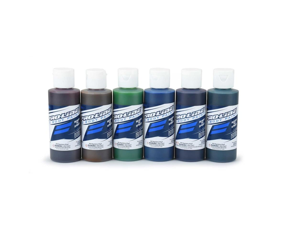 Pro-Line RC Body Airbrush Paint Candy Set (6)