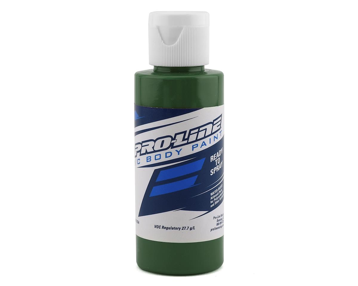 Pro-Line RC Body Airbrush Paint (Mil Spec Green) (2oz)