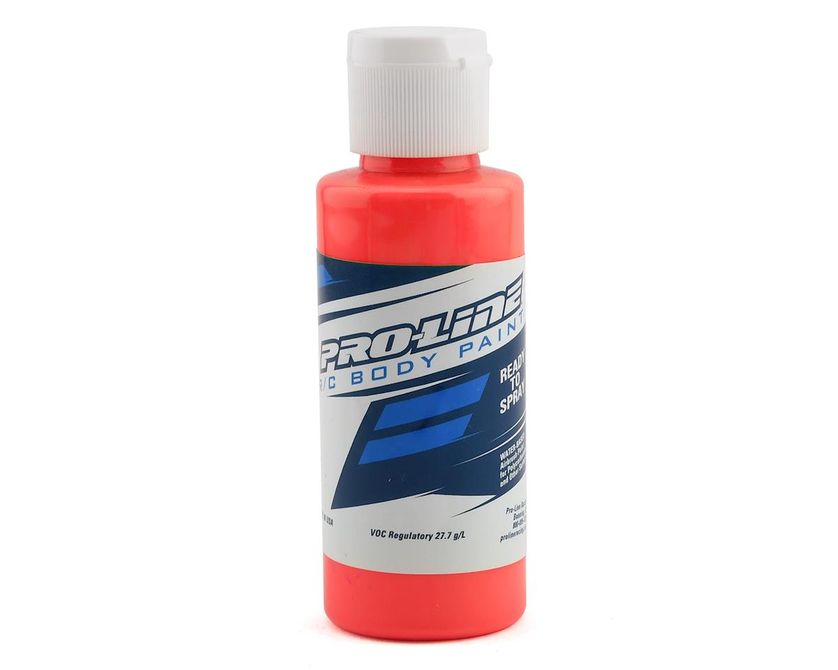 Pro-Line RC Body Airbrush Paint (Fluorescent Red) (2oz)