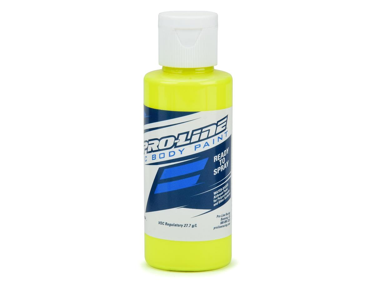 Pro-Line RC Body Airbrush Paint (Fluorescent Yellow) (2oz)