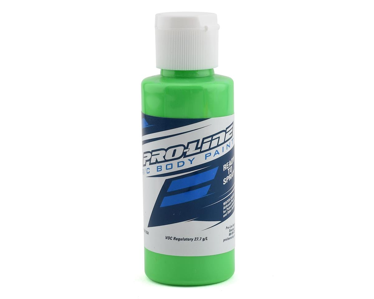 Pro-Line RC Body Airbrush Paint (Fluorescent Green) (2oz)