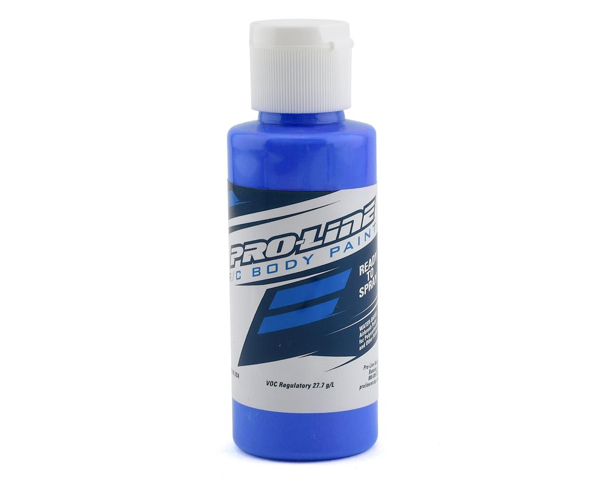 Pro-Line RC Body Airbrush Paint (Fluorescent Blue) (2oz)