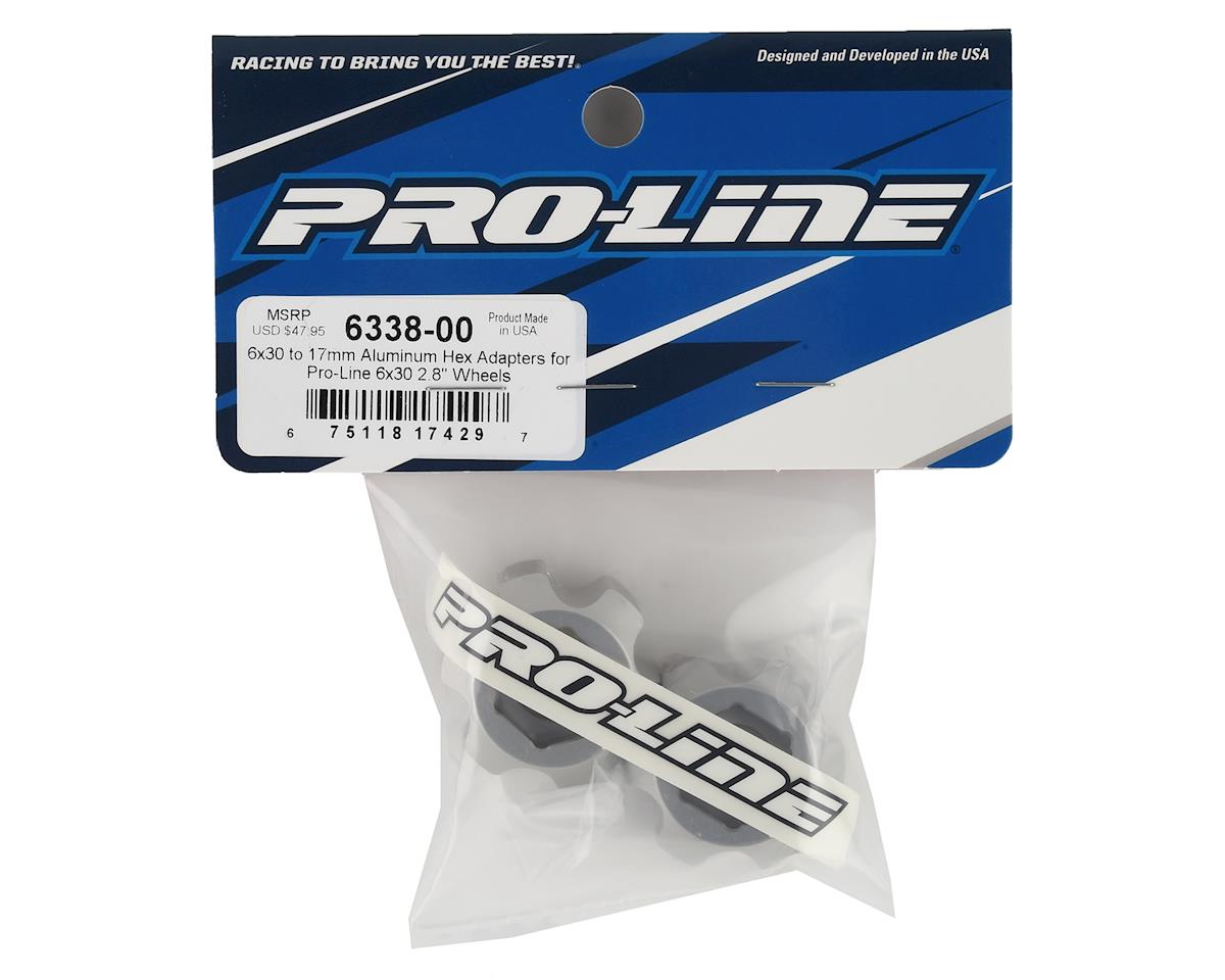 Pro-Line 6x30 to 17mm Aluminum Hex Adapters (2)
