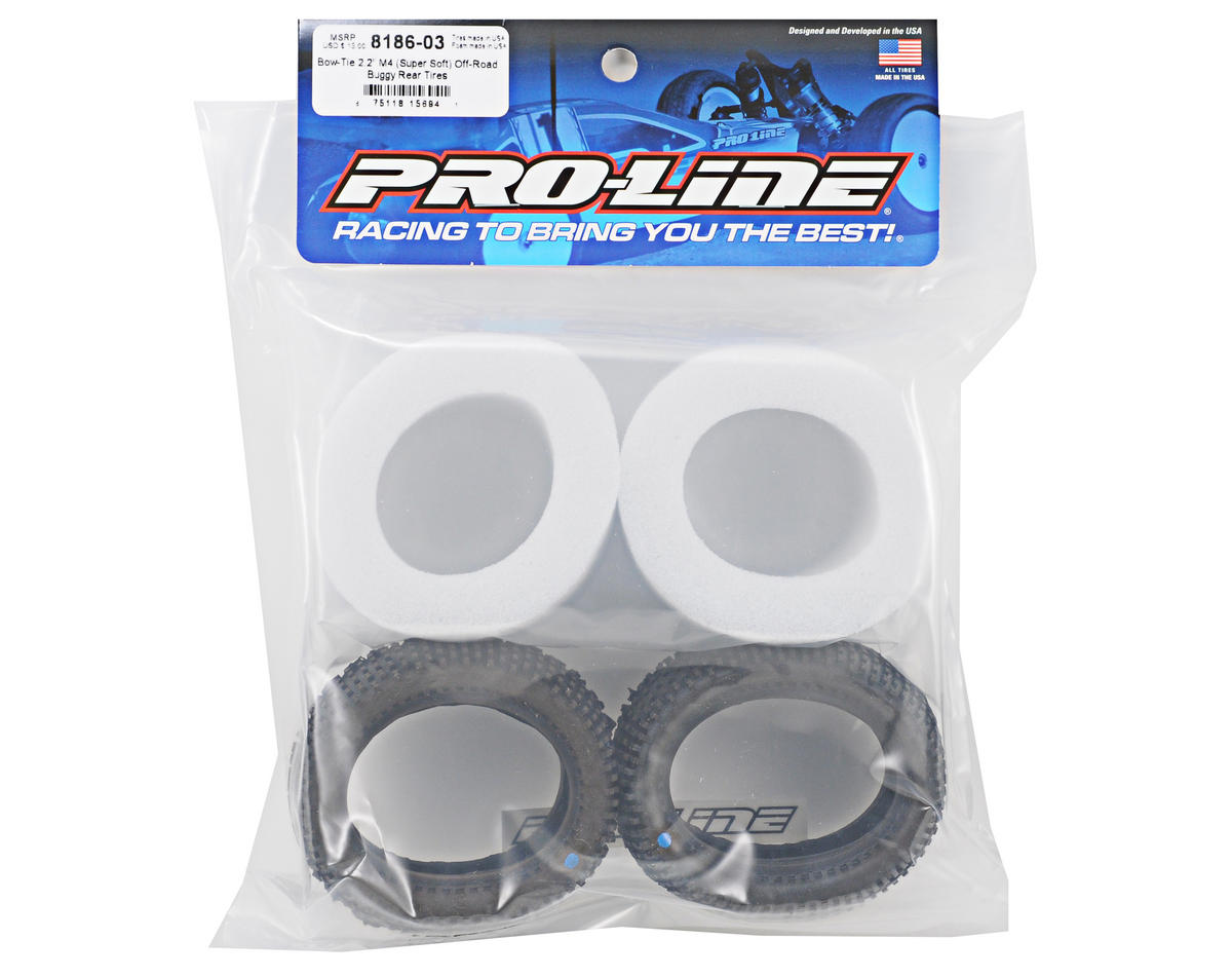 "Pro-Line Bow Tie 2.2"" Rear Buggy Tires (2)"