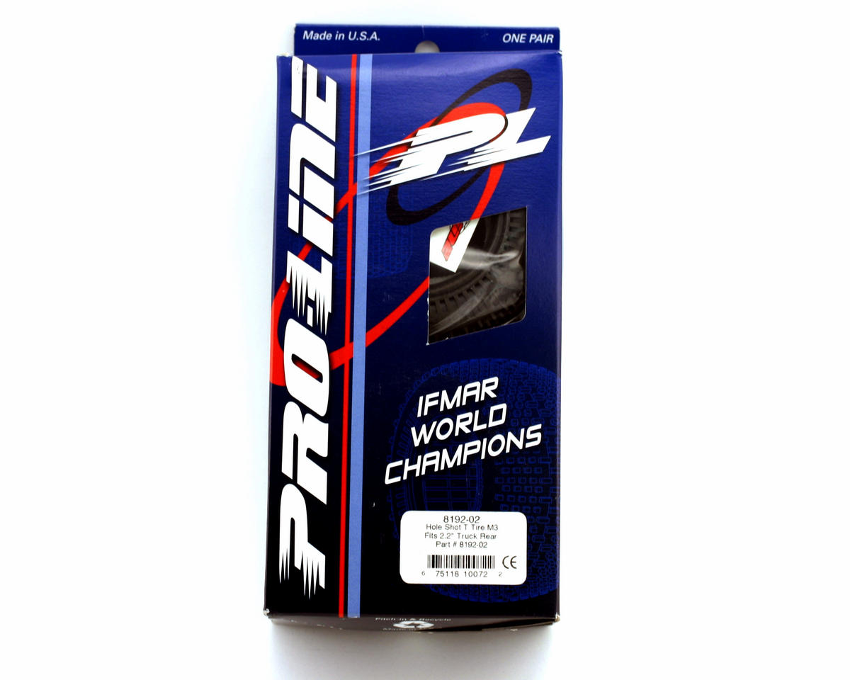 """Hole Shot 2.2"""" Truck Tires (2) (M3) by Pro-Line"""