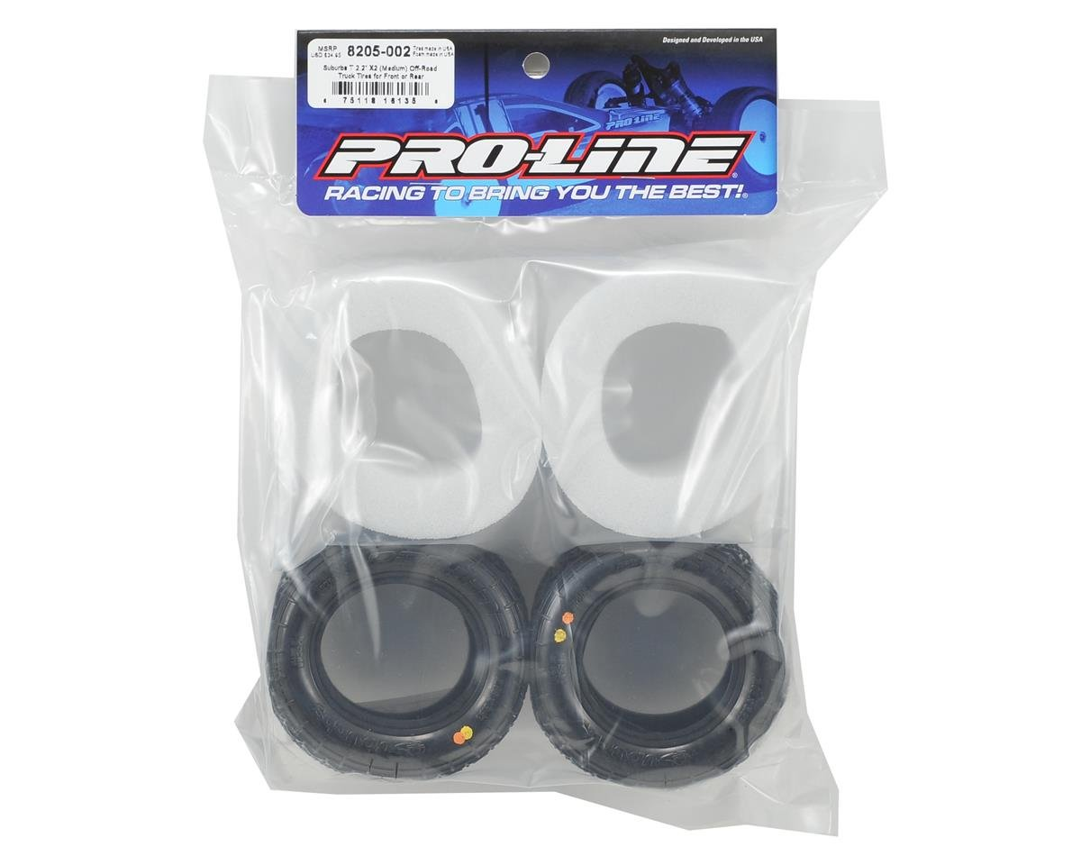 "Pro-Line Suburbs T 2.2"" Off-Road Truck Tires (2)"