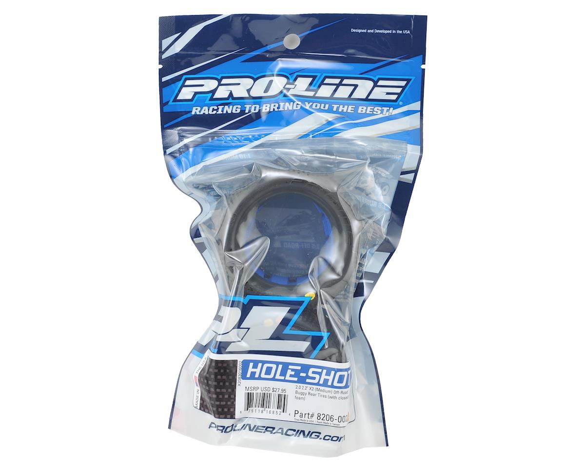 "Pro-Line Hole Shot 2.0 2.2"" Rear Buggy Tires (2) (X2)"
