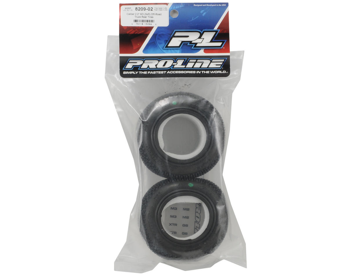 "Pro-Line Caliber 2.2"" Truck Tires (2) (M3)"