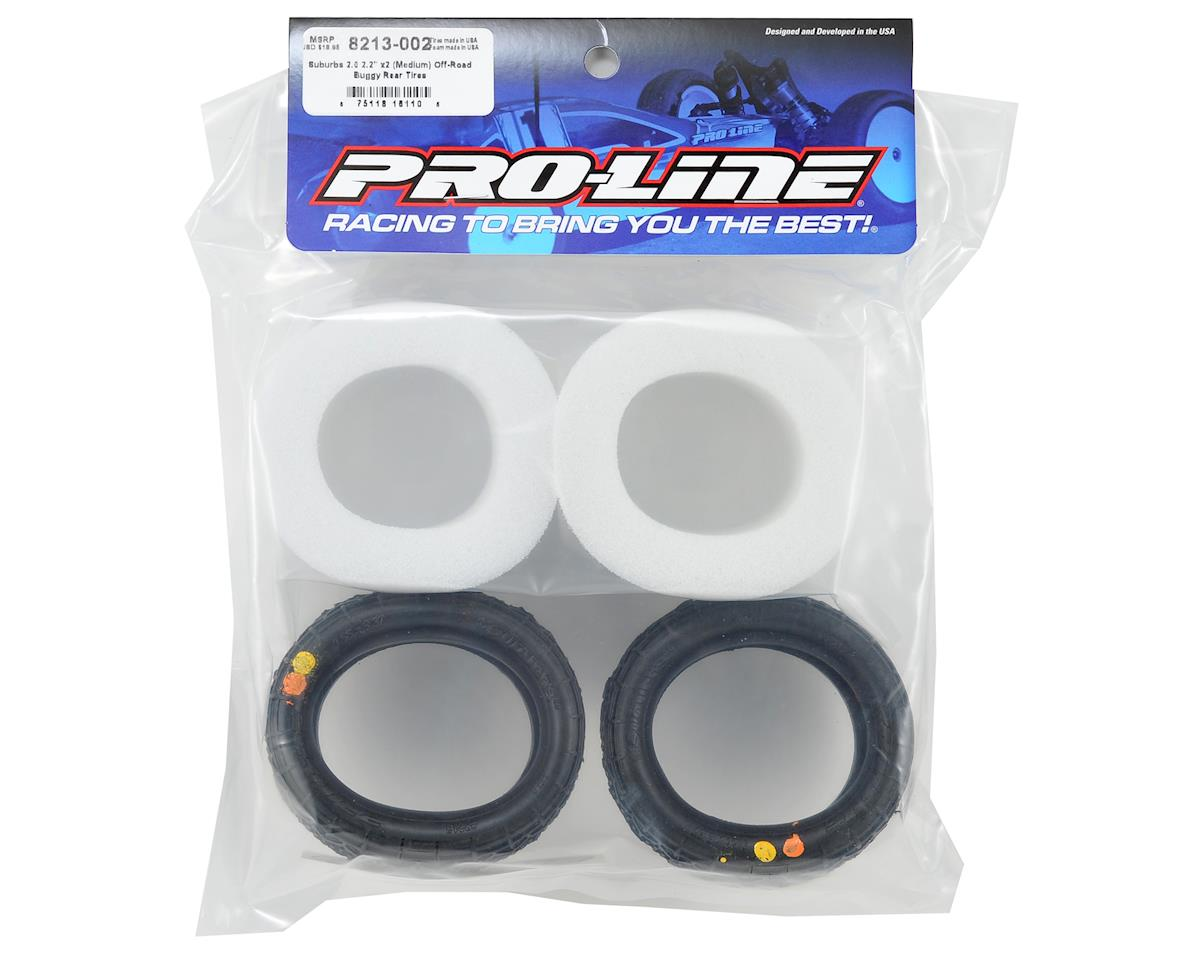 "Pro-Line Suburbs 2.0 2.2"" Rear Buggy Tires (2)"