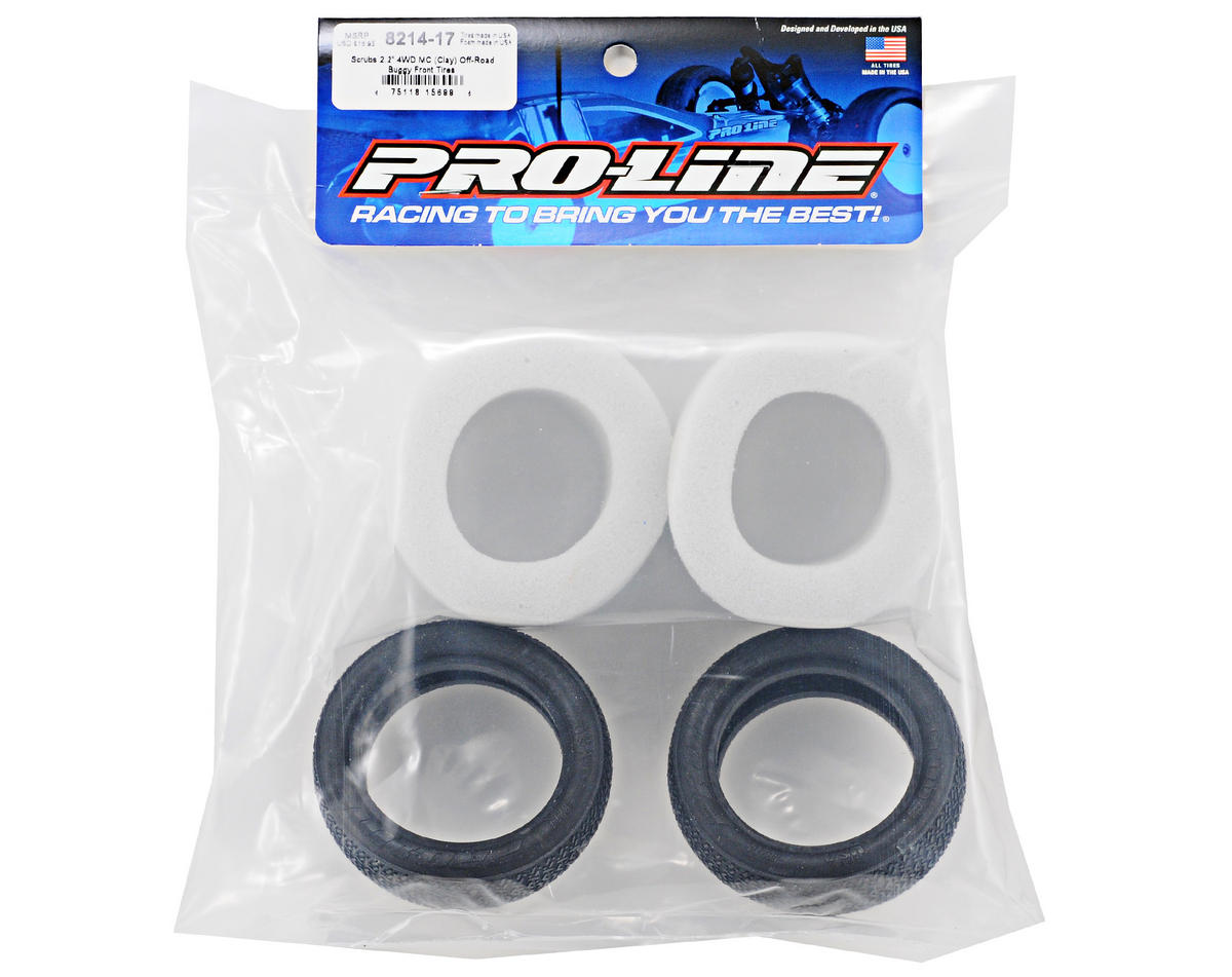 Pro-Line Scrubs MC 4WD Front Buggy Tires (2)