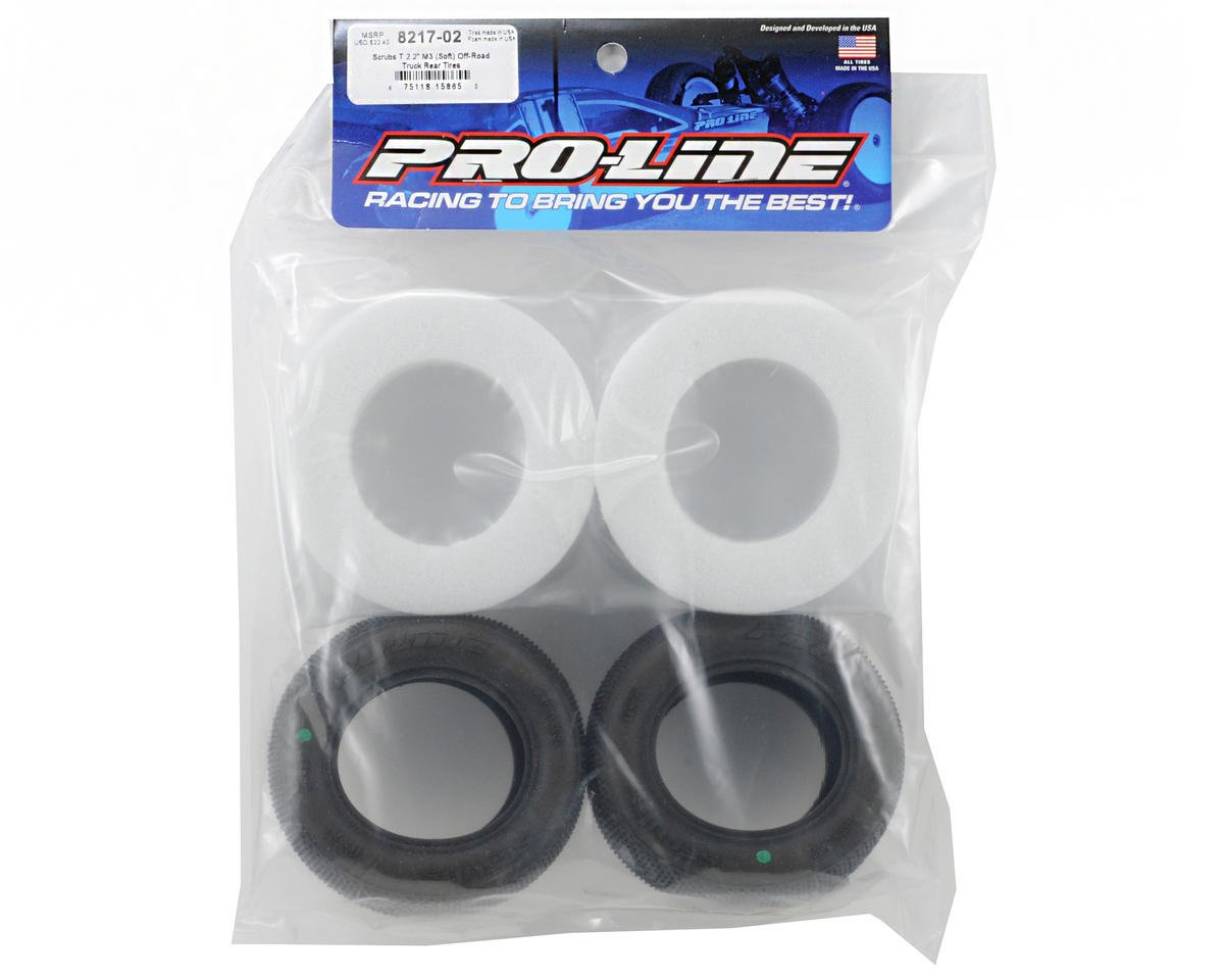 "Pro-Line Scrubs T 2.2"" M3 Off-Road Truck Tires (2)"
