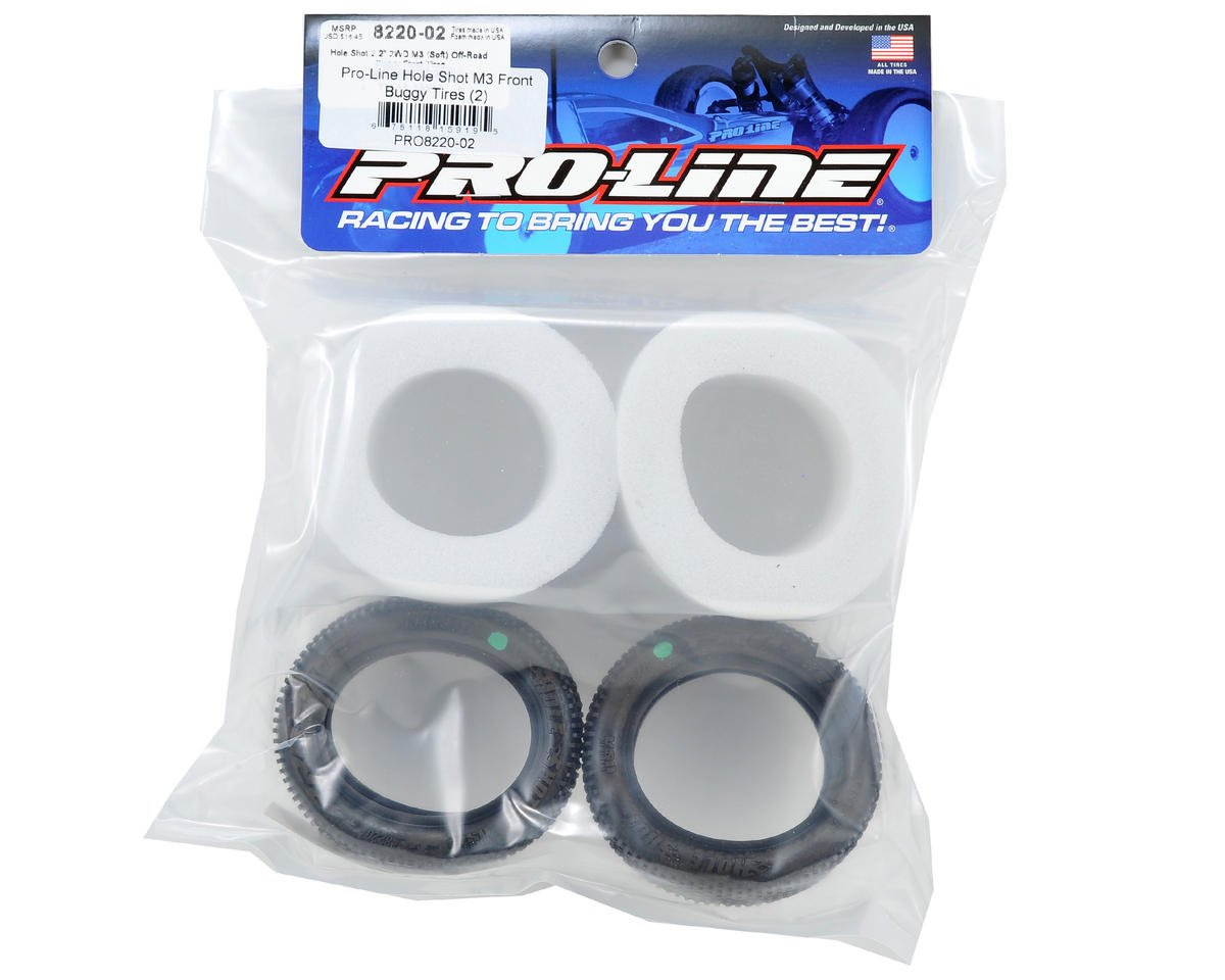 "Pro-Line Hole Shot 2.2"" 2WD Front Buggy Tires (2) (M3)"