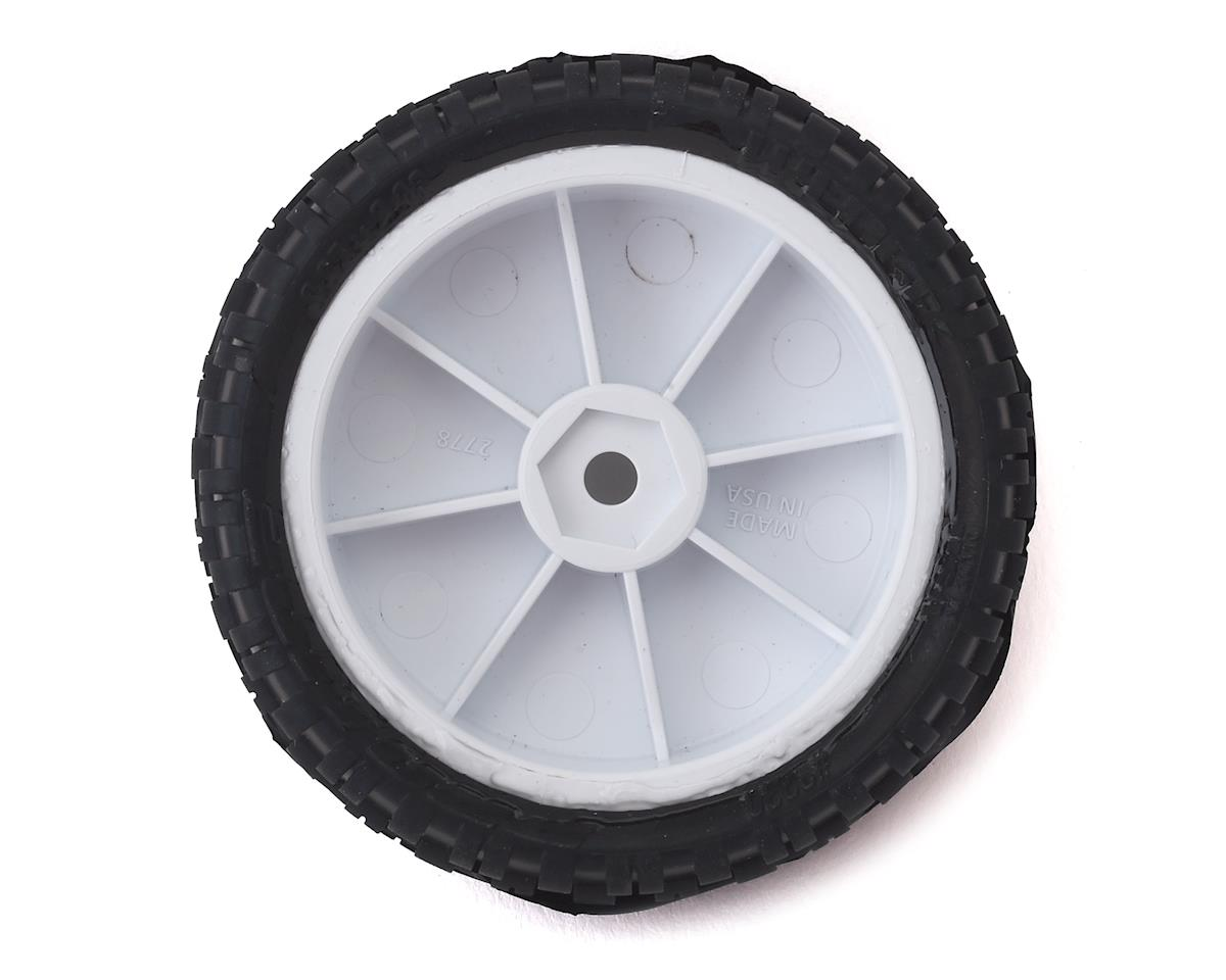 "Pro-Line Wedge Squared 2.2"" 2WD Front Buggy Pre-Mounted Carpet Tires (White) (2) (Z3)"