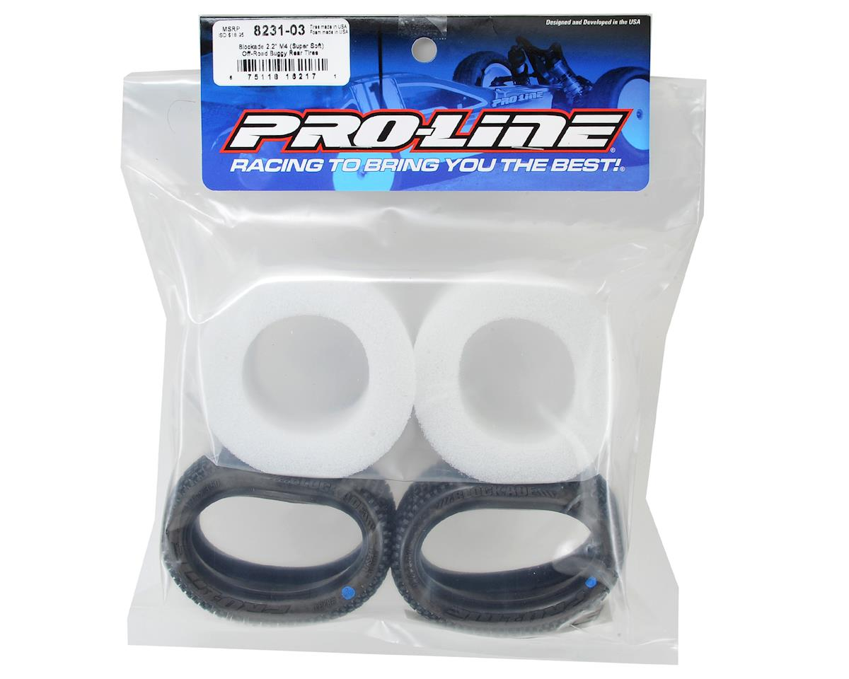 "Pro-Line Blockade 2.2"" Rear Buggy Tires (2) (M4)"