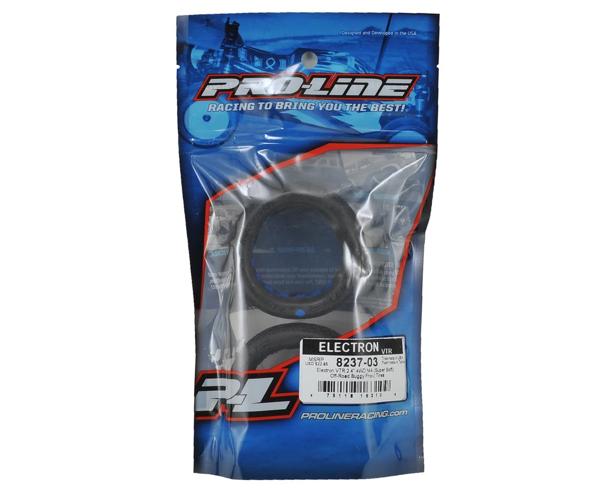 """Pro-Line Electron """"VTR"""" 2.4"""" 4WD Front Buggy Tires (2) (M4)"""