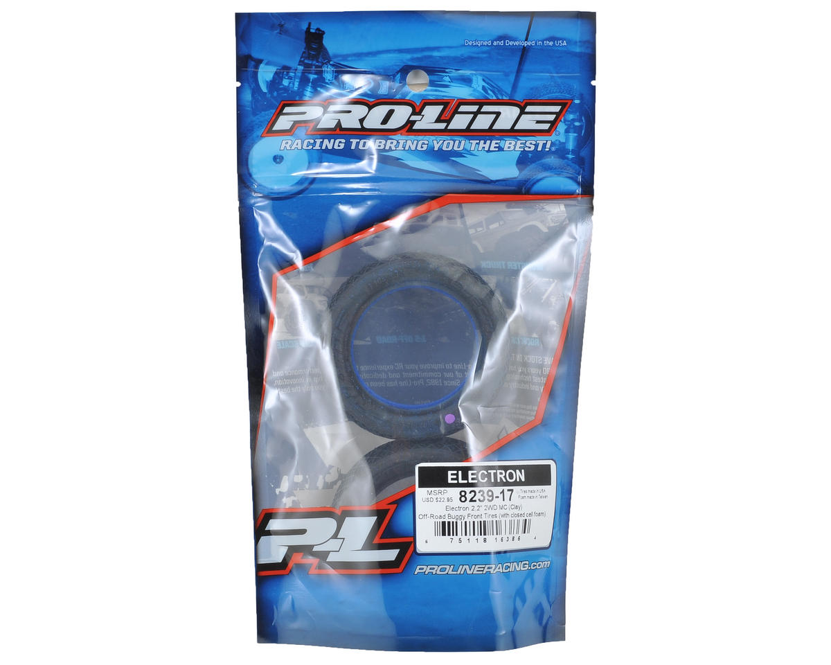 "Pro-Line Electron 2.2"" 2WD Front Buggy Tires (2) (MC)"